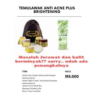 Temulawak Package + Aloevera Gel / Anti Acne Package Plus Moisturizer