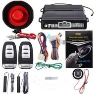 Auto PEK Car Alarm Keyless Entry System Car Engine Remote Controller Starline Universal Remote Central Locking Start Stop Button LLT Store