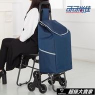 購物車 帶椅子 爬樓梯購物車老年買菜車小拉車拉桿車手推車折疊帶凳 【超級大賣家】YYJ