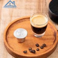 แคปซูลกาแฟฝักกรองสำหรับเครื่องทำกาแฟเนสเพรสโซ Cafilas ตัวกรองที่ใช้ซ้ำได้ Pods
