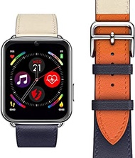 Delicate Smart Watches LEM10 4G Smart Watch Android 7 GPS Bluetooth WiFi 88 Inch Screen 780mah Battery 3GB 32GB for Android iPhone Pre Sale@Two Color_Short_China_3GB_32GB