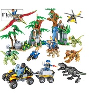 Compatible with Lego Assembly Building Blocks Adventure in Dinosaur Set Educational toy Jurassic World Jurassic Park