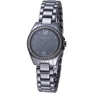 COACH 蔻馳 手錶 14502130 慾望城市晶鑽陶瓷女錶-黑 保固二年 廠商直送
