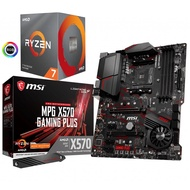 (C+M) AMD Ryzen7 3700X + MSI X570 GMAING Plus 組合
