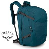 【Osprey 美國】NOVA 32 電腦背包 15吋筆電背包 城市背包 旅行背包 女款 埃塞藍 (Nova32)