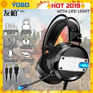 YOBO A10 Pro In Gaming Headset Headphones Earphone with Mic for Laptop/PC
