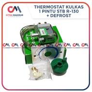 Thermostat Kulkas STB R 130 R130 termostat thermo stat termo pengatur suhu untuk 1 2 pintu sanyo sharp toshiba refrigerator otomatis defrost de frost  Limited