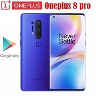 Oneplus 8 Pro 5Gสมาร์ทโฟนSnapdragon 865 8G 128G 6.87 ''120Hzของเหลวจอแสดงผล48MP Quad 513PPI 30Wไร้สายชาร์จGlobal Rom