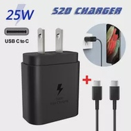 Wall-Charger Samsung Galaxy Note Mobile-Phone 10-Accessories Type-C Super-Fast for 25-W