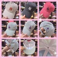 【♦花语百貨居】🔥秋冬 MLB New York 燈芯絨 NY帽 LA帽 洋基帽 道奇帽棒球帽 老帽 鴨舌帽