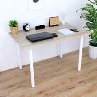 【頂堅】大型書桌/餐桌/電腦桌-寬120x深80x高75公分-四色可選原木色