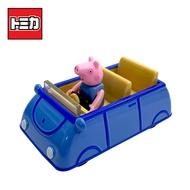 【正版授權】TOMICA 騎乘系列 喬治豬 x 家庭車 玩具車 佩佩豬 粉紅豬小妹 多美小汽車 - 136965
