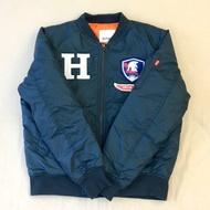 全新現貨- 韓國瑜飛行夾克,鋼鐵H 鋪棉外套《黨部貨》