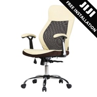 JIJI General Manager Office Chair (Free Installation) - Home Office Chair / Office chair/Study chair/Gaming chair/Ergonomic/ Free 12 Months Warranty (SG)