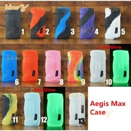 (kkwy case) Texture Cover for geekvape Aegis max 100w Silicone Case Sleeve Skin Shield decal sticker leather