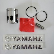 รถจักรยานยนต์ JOG50 ชุดลูกสูบลูกสูบแหวนลูกสูบสำหรับ Yamaha 50cc JOG 50 สกูตเตอร์ชิ้นส่วนเครื่องยนต์ 40 มม....