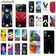 Soft Phone Shell For Tecno Pouvoir 4 Pro Paint For Tecno Pouvoir4 Print For Tecno Pouvoir 4 Pro Protective Cover Mobile Phone