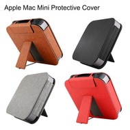 2018 Apple Mac Mini Desktop皮套 PU皮革支架套 保護套