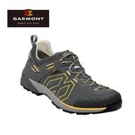 GARMONT 男款 Gore-Tex低筒郊山健走鞋Santiago Low GTX 481241/212 深灰黃 / 城市綠洲(登山鞋、GORETEX、防水、黃金大底)UK10