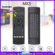 moon_MX3用於X96 H96 Android電視盒的2.4G無線遙控空中鼠標鍵盤