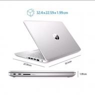 Ready Laptop Hp 14s Intel N4020 Ram 8Gb 1TB 14inch Win10 + Office Original