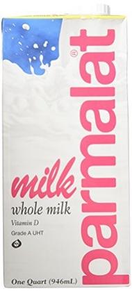 Parmalat Parmalat Shelf Stable UHT Whole Milk 1 Qt (Pack of 6)
