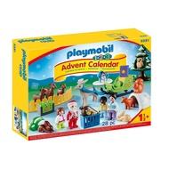 摩比 Playmobil 9391 123 聖誕節 降臨曆