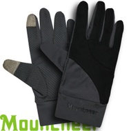 【Mountneer 山林 中性抗UV觸控手套 黑】11G01/觸控手套/觸控手機/手套