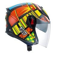 AGV  K-5 K5 JET  ELEMENT 元素 3/4罩 安全帽 內鏡片 複合纖維 (義大利)特價品《裕翔》