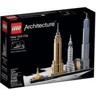 【宅倫】現貨特賣~樂高LEGO 樂高 21028 建築系列 紐約市