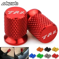 TRK CNC Aluminum Tyre Valve Air Port Cover Cap Motorcycle Accessories for Benelli TRK 251 502 502x All Year Red Black Gr