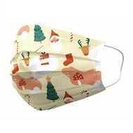 優美特 聖誕限定 聖誕季節 醫用口罩 雙鋼印 成人25入/盒