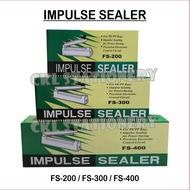 Impulse Sealer / Packaging Sealing Mesin FS-400【400mm / 16 Inch】
