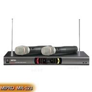 永悅音響 MIPRO MR-123 嘉強 無線麥克風組 (手持可免費更換頭戴OR領夾麥克風)
