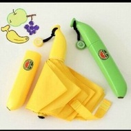《數碼特賣》香蕉傘 Banana 耐用骨架 生日禮物 創意禮物 交換禮物 三摺傘 雨傘 聖誕節 個性雨傘/創意香蕉傘(150元)