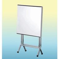 新竹以北免運 / 折疊桌 / 2尺x2尺 / 不鏽鋼桌 / 白鐵桌 / 白鐵折疊桌
