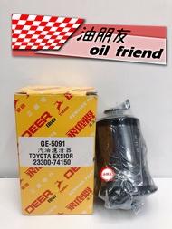-油朋友-  toyota 汽油芯 豐田 exsior a秀 飛鹿 23300 74150 GE-5091 GE5091正廠