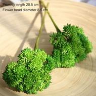 24รูปแบบไม้อวบน้ำประดิษฐ์สีเขียวFlockingพืชบอนไซตั้งโต๊ะพืชปลอมวันวาเลนไทน์ของตกแต่งงานแต่งงาน