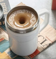 攪拌杯 心工匠二代溫差全自動攪拌杯旋轉便攜咖啡磁力不銹鋼懶人電動降溫全館促銷·限時折扣