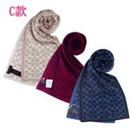 【COACH】新款經典LOGO圍巾、披肩(3色)