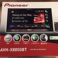 2016年Pioneer 先鋒牌AVH-X8850BT 觸碰螢幕主機