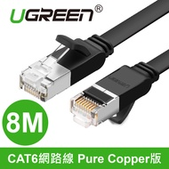 綠聯 8M CAT6網路線 Pure Copper版黑色