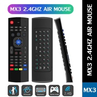 Mx3 2.4g Wireless Keyboard Controller Remote Control Air Mouse For Smart Android 7.1 Tv Box X96 Mini S905w Tx3 Tvbox 40 Inches Avision 32 Hd Led 24 Devant