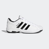 【adidas 愛迪達】籃球鞋 男鞋 運動鞋 緩震 包覆 PRO MODEL 2G LOW 白 FX4981