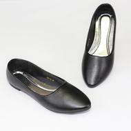 FAIRY FAIRY รองเท้าคัชชูส้นเตี๊ย 426/11A1B รองเท้าคัชชูส้นแบน หัวแหลม แฟร์รี่ Womens Slip Ons & Espadrilles  Womens Footwear  Fashion  ยี่ห้อ : NO BRAND รหัส : 426/11A1B ราคา :348 บาท SIZE: 36-41 รองเท้าคัชชูส้นเตี๊ย ส้นแบน หัวแหลม ดำกำมะหยี่-ซับดำ