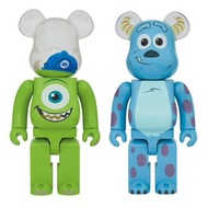Bearbrick Mike & Sulley 1000% Set