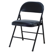 【除舊佈新】【二手】黑色 鐡合椅 傳統椅 辦公椅 折合椅 折疊椅 摺疊椅 橋鐵椅 橋牌椅