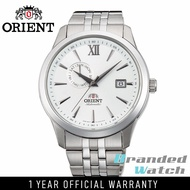 Orient FAL00003W Man Contemporary Automatic Date and Day Display Stainless Steel Watch AL00003W