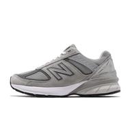 New Balance 慢跑鞋 990v5 NB 灰 白 元祖灰 麂皮鞋面 美國製 女鞋 W990GL5D 【ACS】