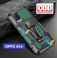 CASE HP OPPO A54 CASING STANDING BACK KLIP HARD CASE HP ROBOT NEW COVER